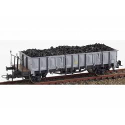 """Vagón abierto borde medio tipo """"X1""""."""