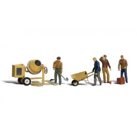 Obreros. WOODLAND A1901
