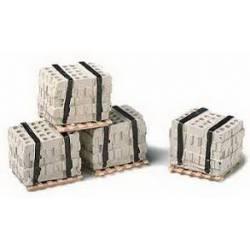 Palés de bloques. MODEL RAILSTUFF 540
