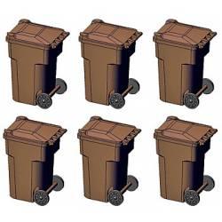 Trash cans. HI TECH DETAILS 8009
