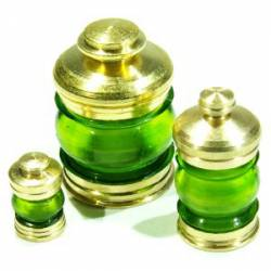 Lámpara, verde (x3). RB 072-08