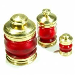 Lámpara, roja (x3). RB 071-10
