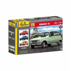 Renault 4L. HELLER 80759