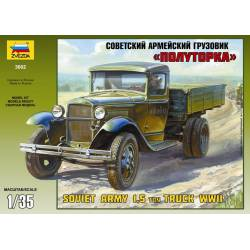 Camión soviético 1,5 toneladas. ZVEZDA 3602