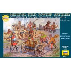 Powder artillery. ZVEZDA 8027