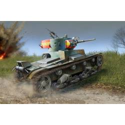 Soviet T-26 Light Infantry Tank Mod.1936/37.