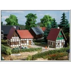 Dos casas rurales.