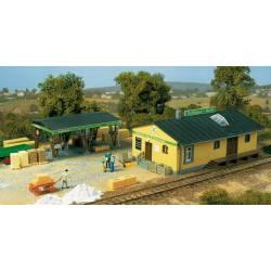Rural parts depot.