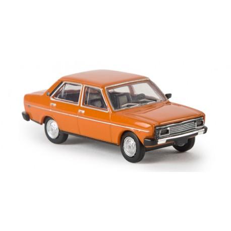 Fiat 131 Mirafiori, naranja. BREKINA 22606
