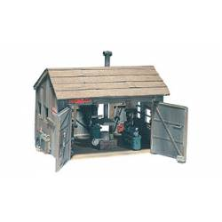 Tucker Brothers machine shop. WOODLAND SCENICS D240