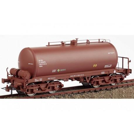 Cisterna de bogies rojo óxido RR-310050, RENFE. KTRAIN 0714K