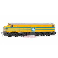 Locomotora diésel 1602, VIAS. Sonido. ARNOLD HN2247S