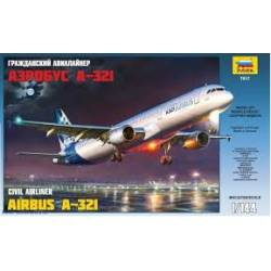 Airbus A-321. ZVEZDA 7017