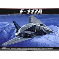 F-117A Stealth Attack-bomber. ACADEMY 12265