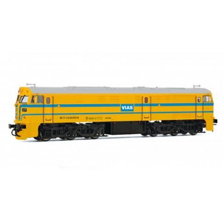 Diesel locomotive 321.075, VIAS. ARNOLD HN2265