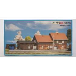 Estación de tren y aseos. KIBRI 9378