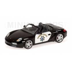 Porsche Boxter S, Highway Patrol. MINICHAMPS 400065692