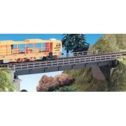 Puente ferroviario recto.
