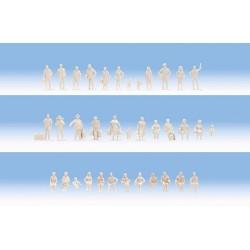 Unpainted figures. NOCH 14985