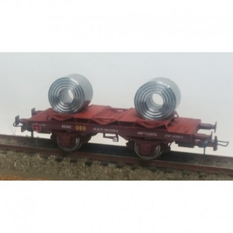 Vagón bobinero MB-153103, RENFE. KTRAIN 0715C