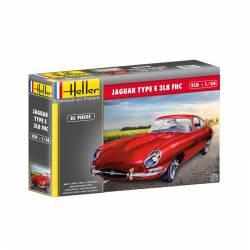 Jaguar E 3L8 FHC. HELLER 80709