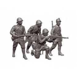 Romanian infantry. ZVEZDA 6163