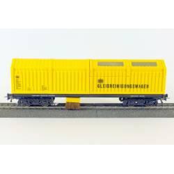 Vagón limpiavías por aspiración. AC. LUX-Modellbau 8830