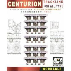 Cadenas para Centurion. AFV CLUB 35102