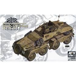 Sd.Kfz.233 8-Rad w/7.5cm Gun. AFV CLUB 35233