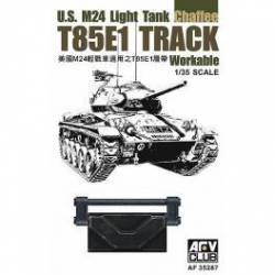 M24 T85E1 track. AFV CLUB 35287