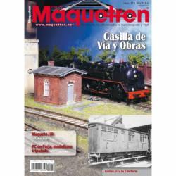 Revista Maquetren, nº 274. Diciembre 2015