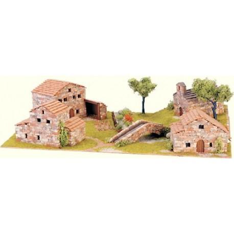 Diorama: Pueblo ibérico. DOMUS KITS 40204