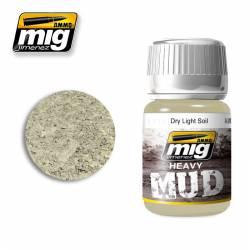 Mud: Dry light soil. 35 ml. AMIG 1700