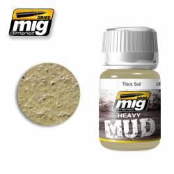 Mud: Thick soil. 35 ml. AMIG 1701