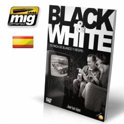 Black & White. Técnica de blanco y negro. AMIG 6017