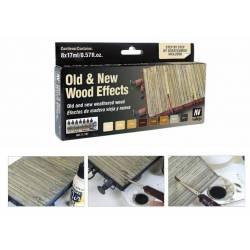 Set efectos de madera. VALLEJO 71187