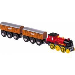 Locomotora eléctrica y vagones. MAXIM ENTERPRISE 5802