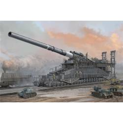 "German 80cm K(E) Railway Gun ""Dora"". HOBBY BOSS 82911"