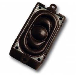 Square loudspeaker, 100 ohm. 40 x 20 mm. ESU 50448