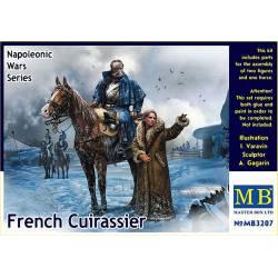 Guerras Napoleónicas: Coracero francés. MASTER BOX 3207