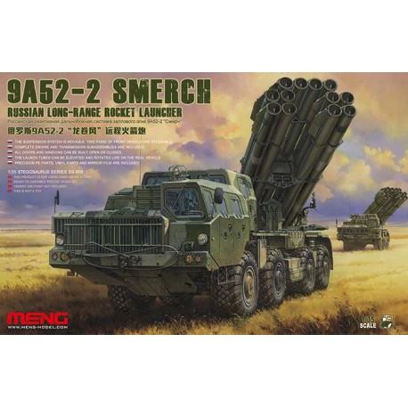 Lanzamisiles de largo alcance ruso 9A52-2 Smerch. MENG SS-009