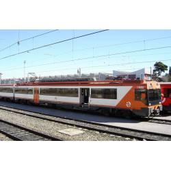 Electric railcar 470 RENFE, Regional. Sound.