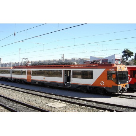 Electric railcar 470 RENFE, Regional. Sound. ELECTROTREN 3613S