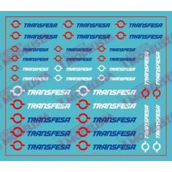 Logotipos de Transfesa modernos. ETM 9030