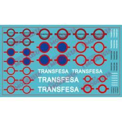 Logotipos de Transfesa antiguos. ETM 9034