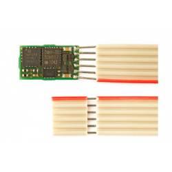 Decoder de 6 funciones, 500 mA. 6 pins.