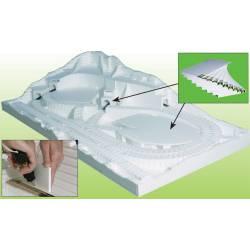 Foam sheet(x4). WOODLAND ST1422