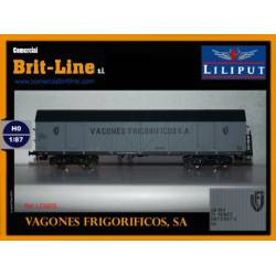 Refrigerated wagon RENFE. LILIPUT 235658