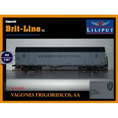 Refrigerated wagon RENFE. LILIPUT 235658