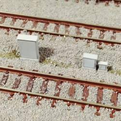 Set de 6 armarios de señales de RENFE.